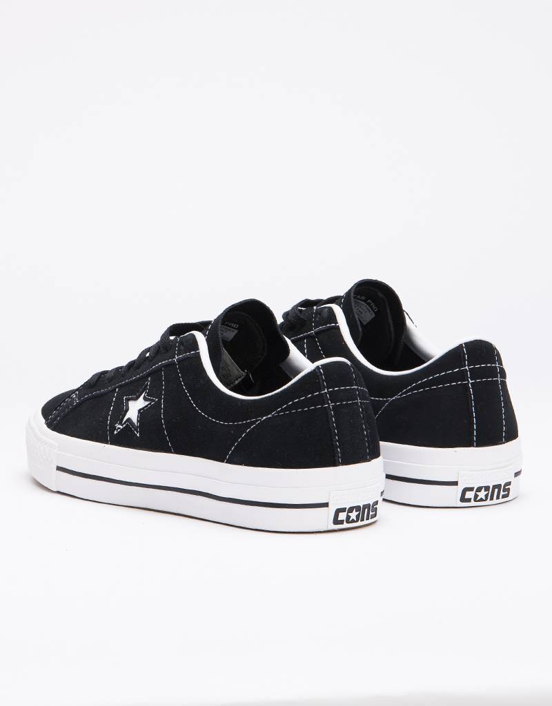 Converse Pro Ox Black/White/White Black