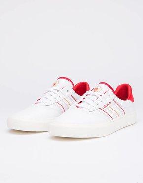 adidas Skateboarding Adidas 3mc x evisen        ftwwht/scarle/goldmt