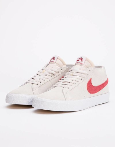 Nike Sb zoom blazer Chukka vast grey/team crimson