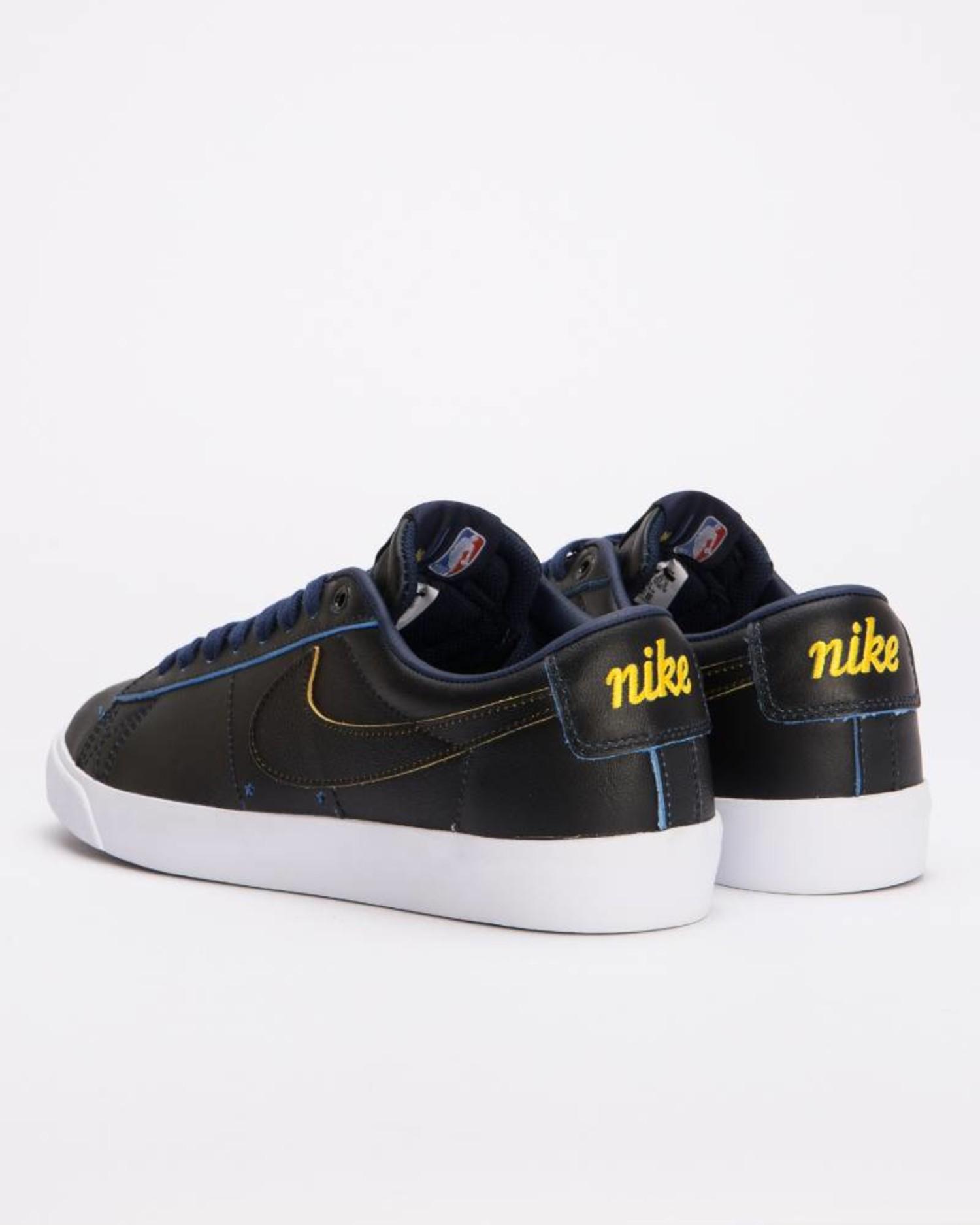 Nike SB Zoom Blazer Low GT NBA Black/Black-Amarillo-Coast