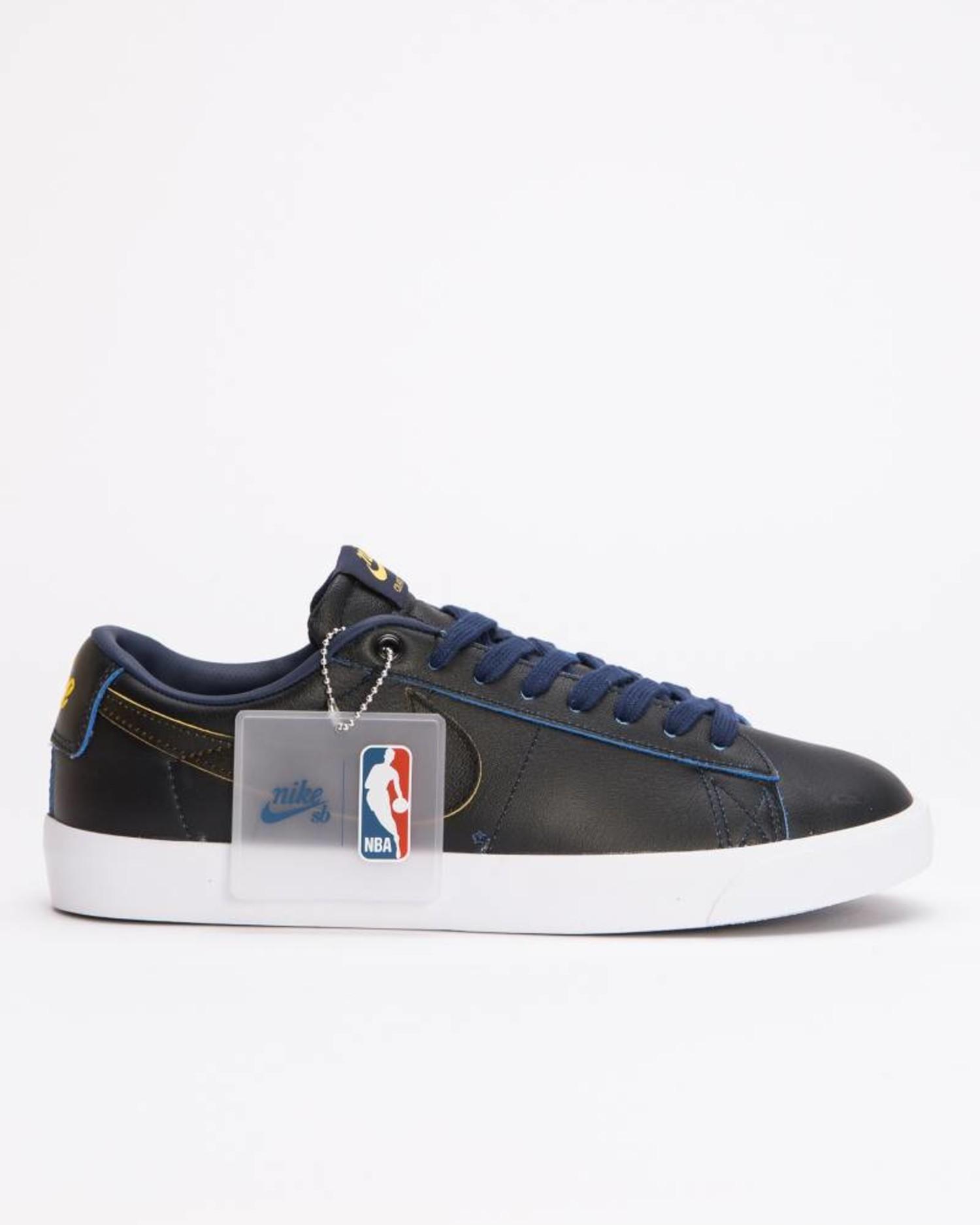 3d53f1acf975 Nike SB Zoom Blazer Low GT NBA Black/Black-Amarillo-Coast - Lockwood ...