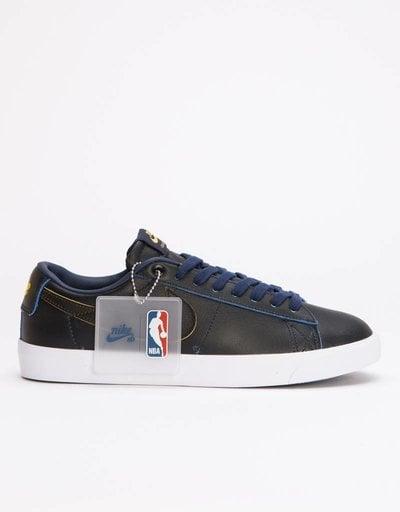 Nike SB Zoom Blazer Low GT NBA Black Black-Amarillo-Coast e7720d17eb5f8
