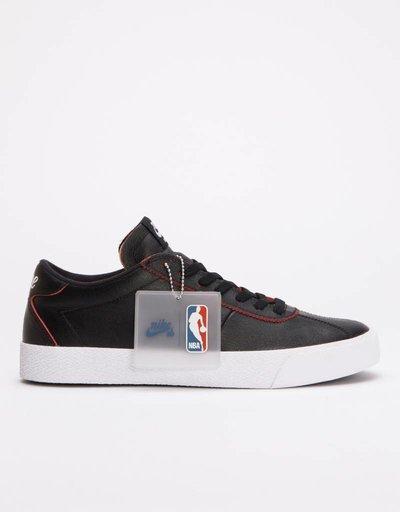 996ace6d16f88 Nike SB Zoom Bruin NBA Black Black-University Red