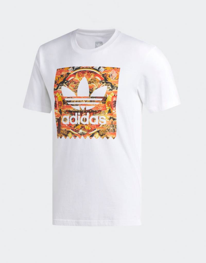 adidas x Evisen BB Fill T-Shirt fl white