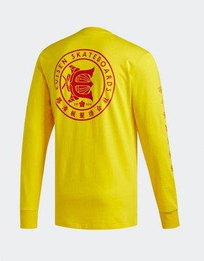 adidas Skateboarding adidas x Evisen T-Shirt yellow/scarle
