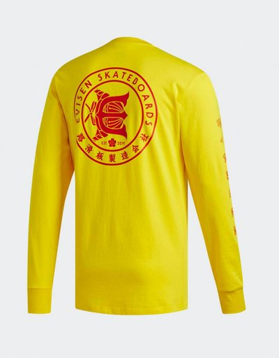 adidas x Evisen T-Shirt yellow/scarle