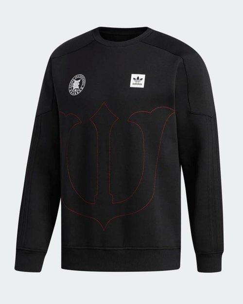 Adidas Skateboarding adidas x Evisen Crewneck black/scarle