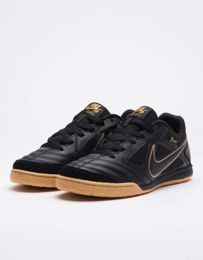 d5b8a954f16 Nike Sb Gato Black black-metallic gold-gum yellow