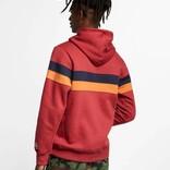 Nike Sb Hoodie Icon Stripes Team crimson/obsidian/cinder orange