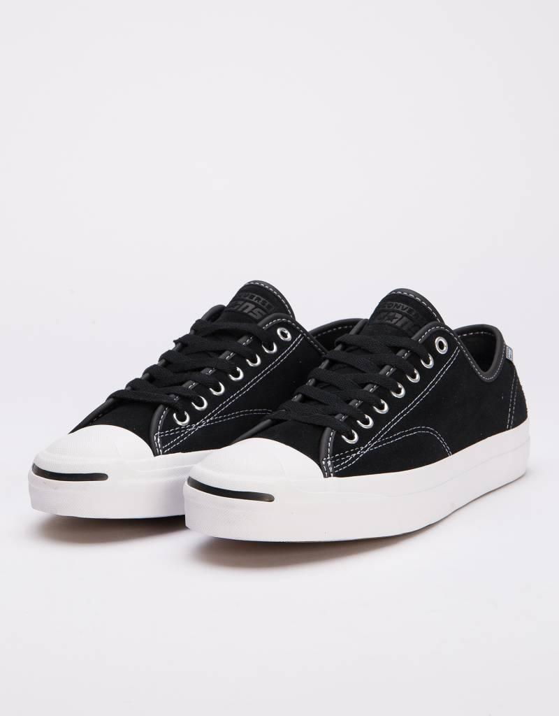 d1a8d379a8e6 Converse Jack Purcell Pro OX Black White - Lockwood Skateshop