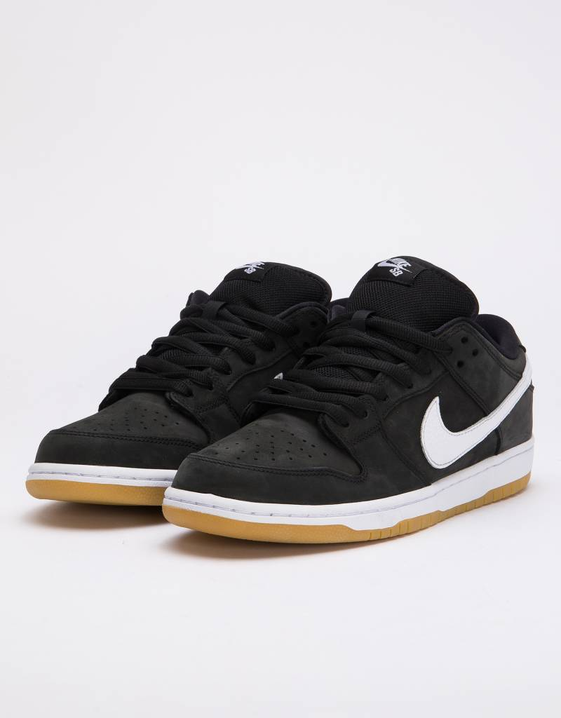 official photos 89b88 8639f Nike SB Orange Label Dunk Low Pro Iso White-Black ...