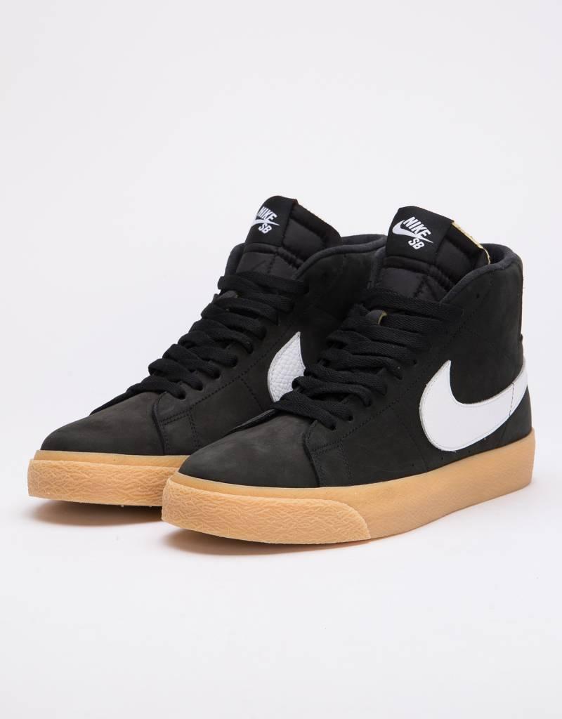 e5c228634d2 Nike SB Blazer Mid Iso Black White-Safety Orange - Lockwood Skateshop