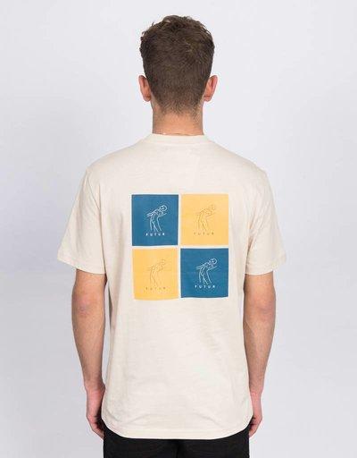 Futur Cube T-shirt Ecru
