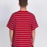 Carhartt S/S Houston Pocket Tee Houston Cardinal Stripe