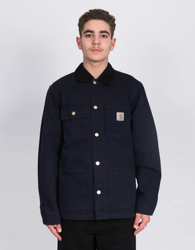 Carhartt Michigan Coat Dark Navy Rinsed