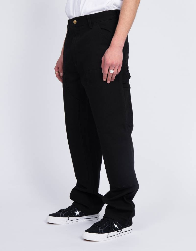 Carhartt Double knee pant Cotton black rinsed