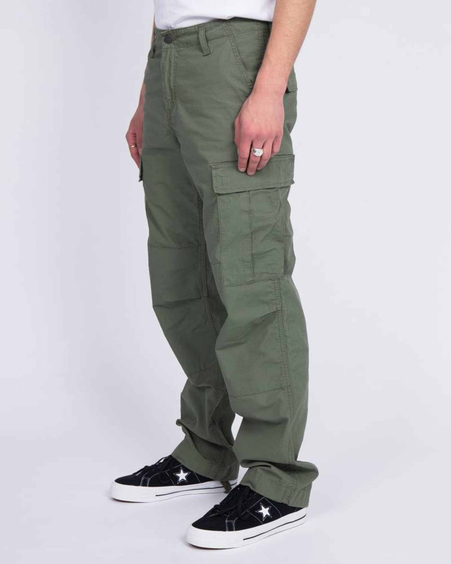 Carhartt Regular Cargo Pants Dollar Green Rinsed
