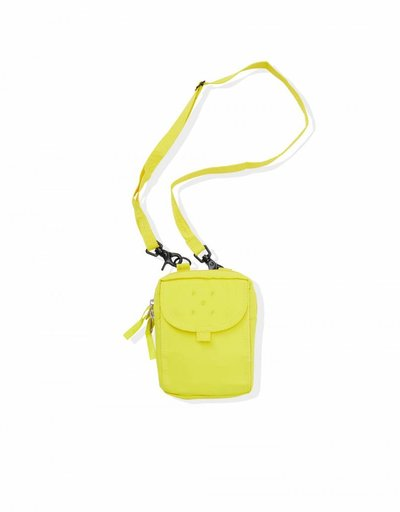 Pop Trading Co Passport Pouch Electric Yellow