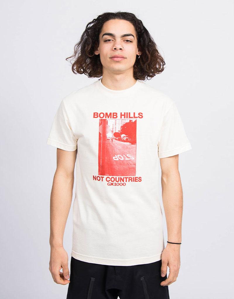 GX1000 Bomb Hills T-Shirt Natural