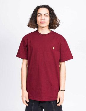 Carhartt Carhartt Chase T-Shirt Cranberry/Gold