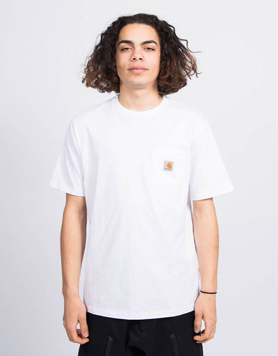 Carhartt S/S Pocket T-Shirt Jersey White