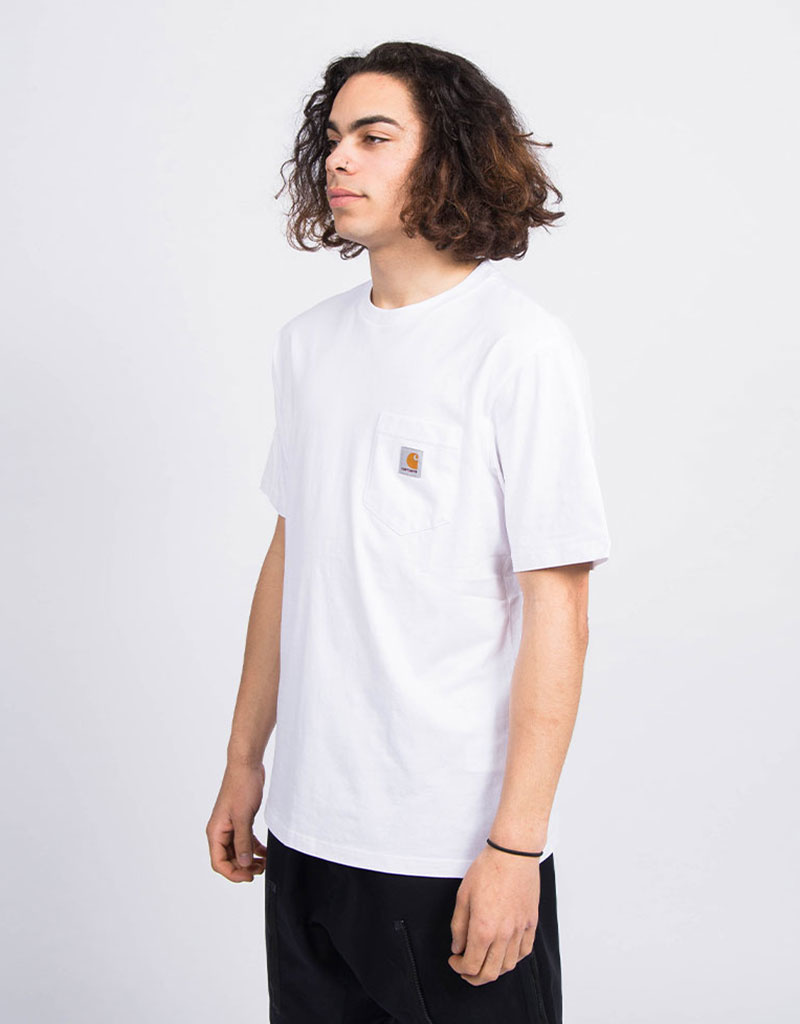 Carhartt S/S Pocket T-Shirt Jersey White