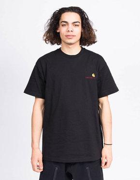 Carhartt Carhartt S/S American Script T-Shirt Black