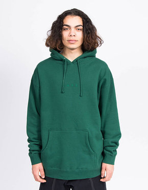 Skateboard Cafe Skateboard Cafe Tonal Embroidered Hoodie Green