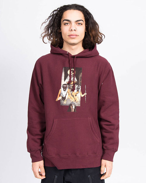 Fucking Awesome Fucking Awesome Chloe 2 Hoodie Maroon