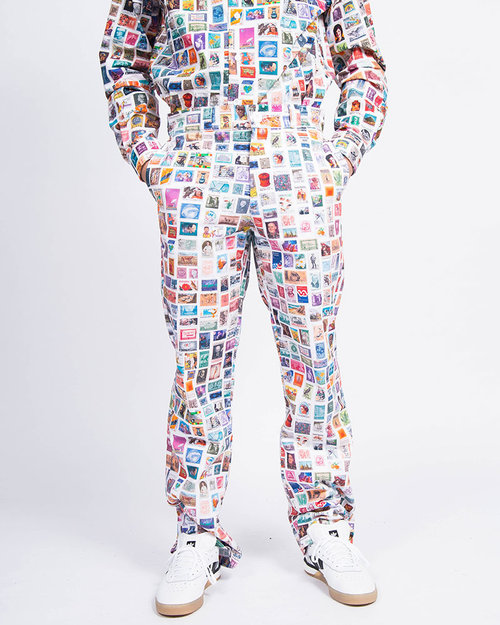 Fucking Awesome Fucking Awesome Stamps Dress Pants White/Multi