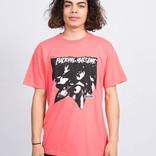 Fucking Awesome Shocking T-Shirt Coral Silk