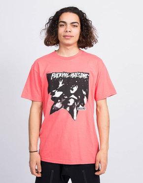 Fucking Awesome Fucking Awesome Shocking T-Shirt Coral Silk