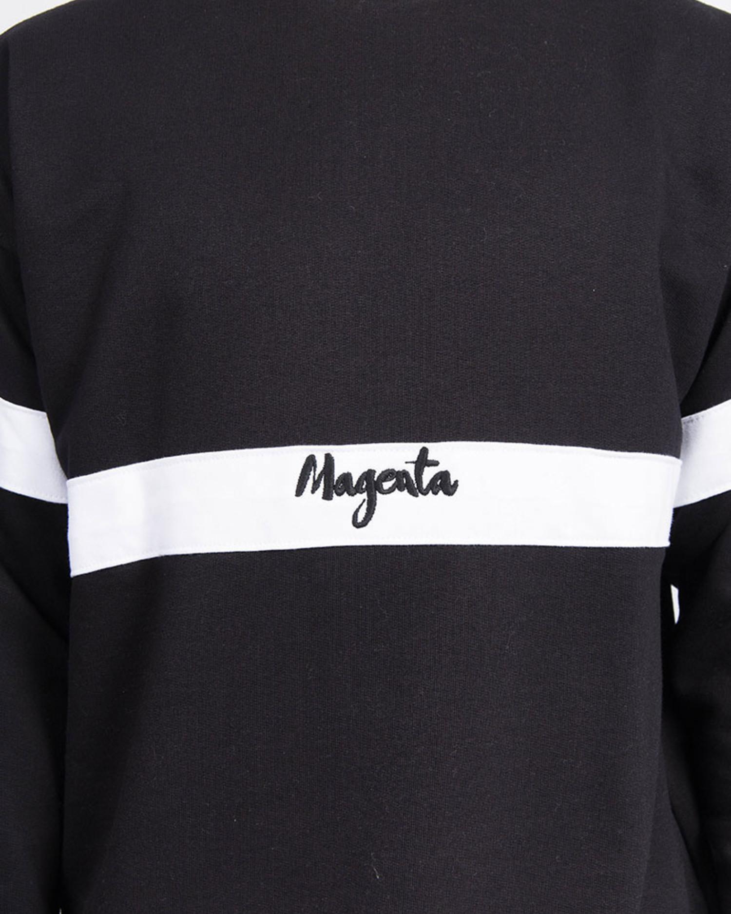Magenta  96 Crewneck Black