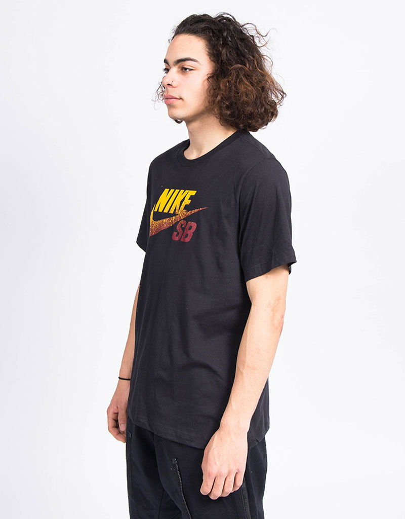 Nike SB Dri-Fit Tee Black/Team Red/University Gold