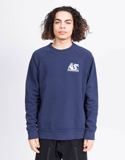 Numbers Termite Fleece Crewneck Navy