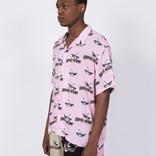 Fucking Awesome Bird Bag Club Shirt Pink