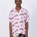Fucking Awesome Bird Bag Club Shirt Pink