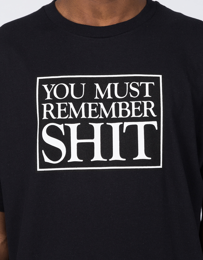 Fucking Awesome Remember T-Shirt Black