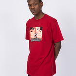 Fucking Awesome Brace Face T-Shirt Red