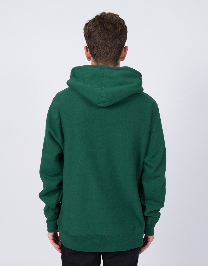Fucking Awesome GDP Embroidered Hoodie Green