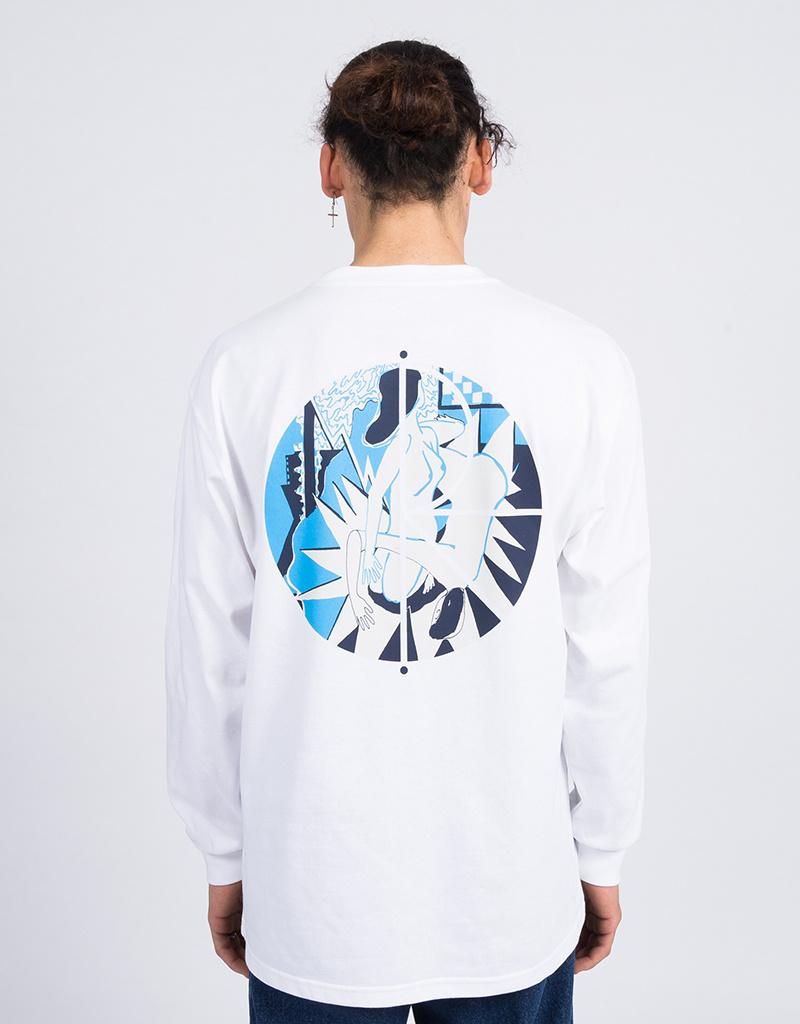 Polar 69 Fill Logo Longsleeve White