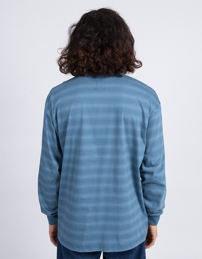 Polar Gradient Longsleeve Grey Blue