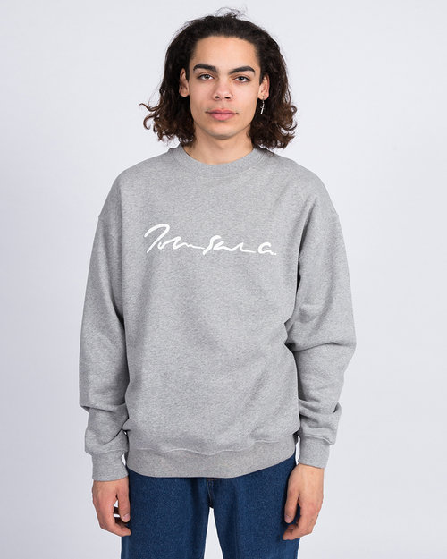 Polar Polar Signature Crewneck Heather Grey