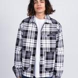 Polar Plaid Work Jacket Grey