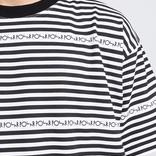 Polar Stripe Logo T-Shirt Black