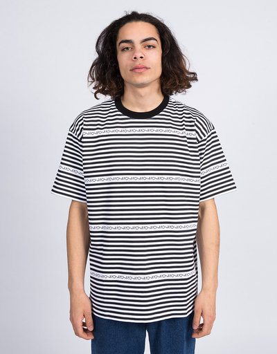 Polar Stripe Logo T-Shirt Black