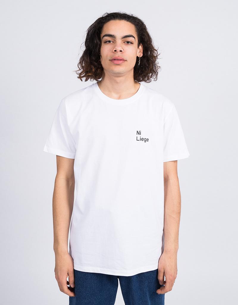 Jean  Jaques Ni Liege T-Shirt White