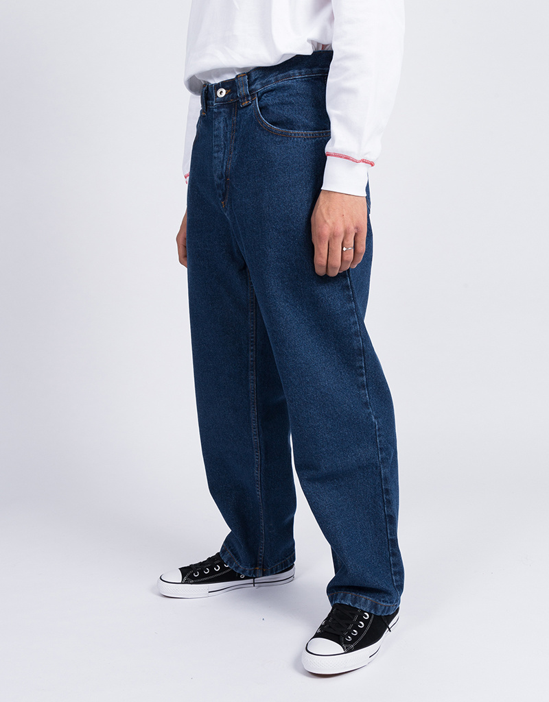 Polar 90's jeans dark blue