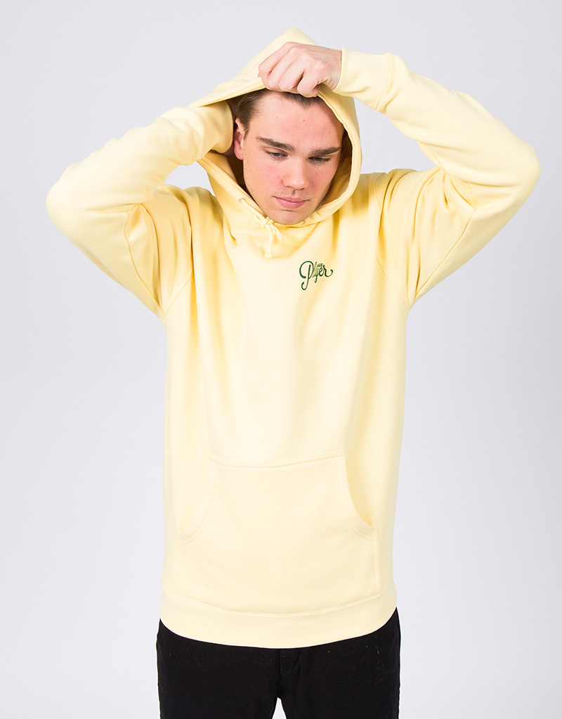Alltimers Sealed Hoodie Light Yellow