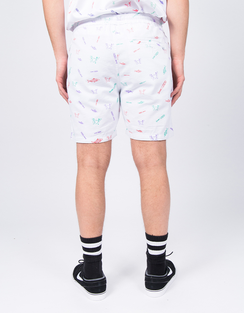 Post Details Disinformation Division Leisure Short White